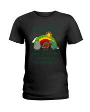 Don't Be A Hippo Twatamus Twatwaffle Cuntasaurus Ladies T-Shirt thumbnail