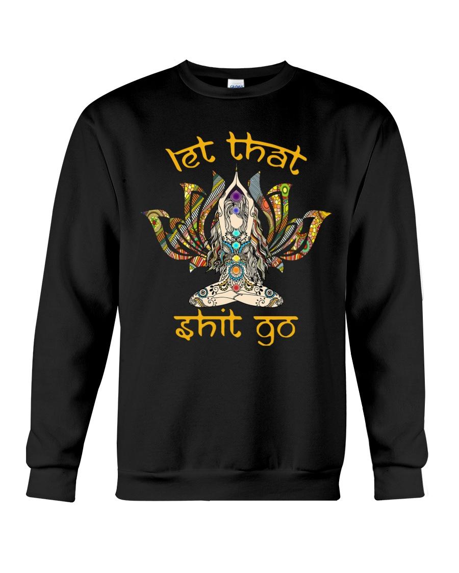 Hippie Girl Let That S Go Crewneck Sweatshirt