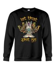 Hippie Girl Let That S Go Crewneck Sweatshirt front