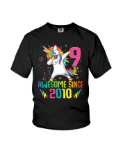 Awesome Since 2010 Youth T-Shirt front