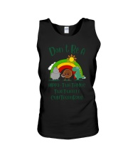Don't Be A Hippo Twatamus Twatwaffle Cuntasaurus Unisex Tank thumbnail