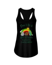 Don't Be A Hippo Twatamus Twatwaffle Cuntasaurus Ladies Flowy Tank thumbnail