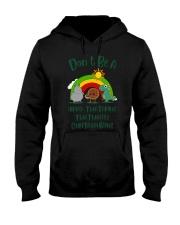 Don't Be A Hippo Twatamus Twatwaffle Cuntasaurus Hooded Sweatshirt thumbnail