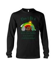 Don't Be A Hippo Twatamus Twatwaffle Cuntasaurus Long Sleeve Tee thumbnail
