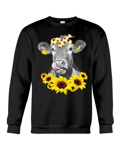 Cow Sunflower