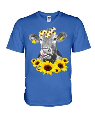 Cow Sunflower