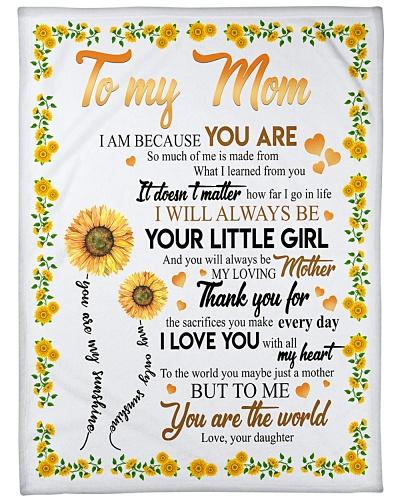 To My Mom Sunflower