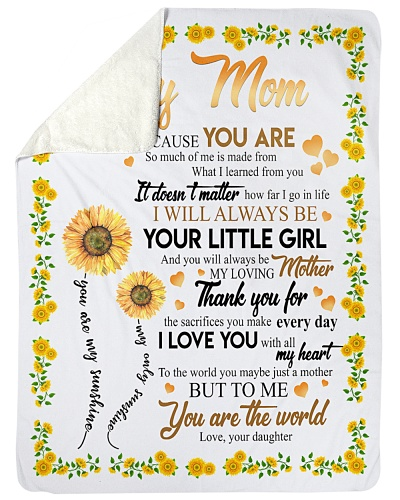 To My Mom Sunflower