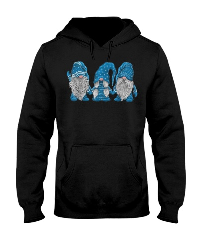 Three Gnomies Funny Blue