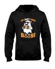 I'm Just Here For The Boos Hooded Sweatshirt thumbnail