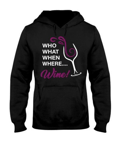 Who What When Where Wine