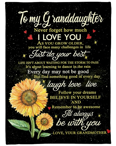 GRANDDAUGHTER I'LL ALWAYS BE WITH YOU2