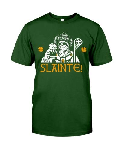 Slainte Shirt Funny St Patricks Day