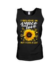 I Belive In Peace And Love Unisex Tank thumbnail