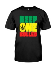 Keep One Rolled Classic T-Shirt front
