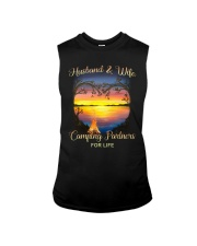 Husband And Wife Camping Partners For Life Sleeveless Tee thumbnail