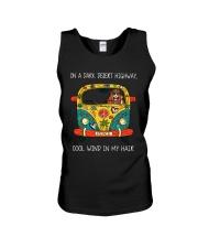 On A Dark Desert Highway Cool Wind In My Hair Unisex Tank thumbnail