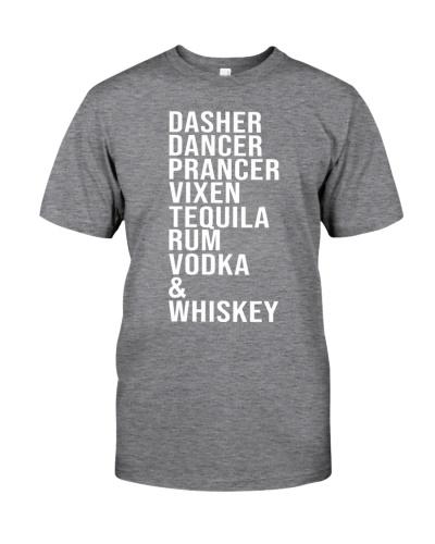 Dasher Dancer Prancer Vixen