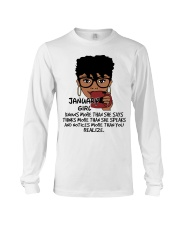 January Girl Knows More Than She Says Long Sleeve Tee thumbnail