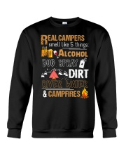 Real Campers Smell Like 5 Things Crewneck Sweatshirt thumbnail