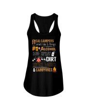 Real Campers Smell Like 5 Things Ladies Flowy Tank thumbnail