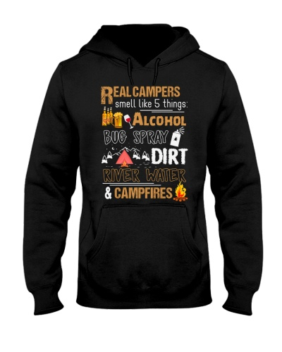 Real Campers Smell Like 5 Things