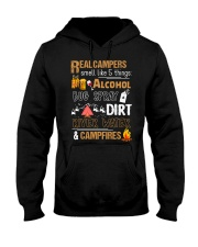 Real Campers Smell Like 5 Things Hooded Sweatshirt thumbnail