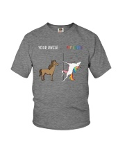 Your Uncle My Uncle Youth T-Shirt front