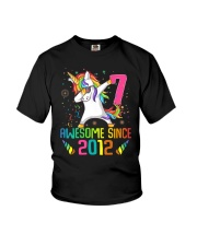 Awesome Since 2012 Youth T-Shirt front