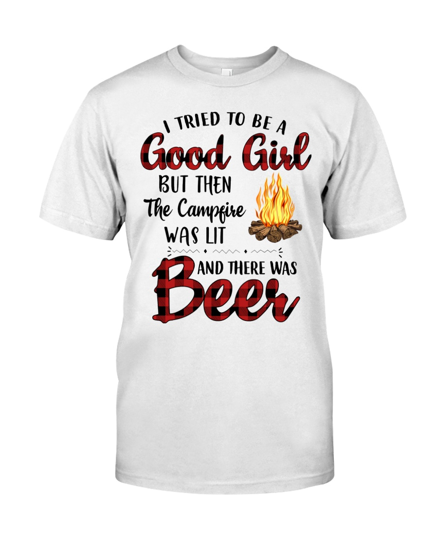 I Try To Be Good Girl Classic T-Shirt