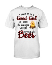I Try To Be Good Girl Classic T-Shirt front