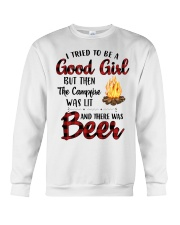 I Try To Be Good Girl Crewneck Sweatshirt thumbnail