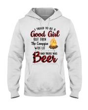 I Try To Be Good Girl Hooded Sweatshirt thumbnail