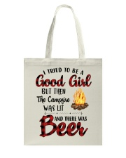 I Try To Be Good Girl Tote Bag thumbnail
