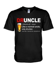 Druncle V-Neck T-Shirt thumbnail