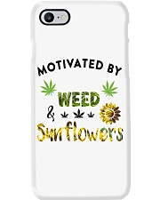 Motivated By Weed And Sunflowers Phone Case thumbnail