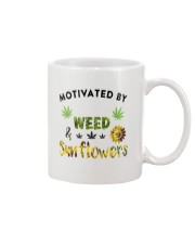 Motivated By Weed And Sunflowers Mug thumbnail