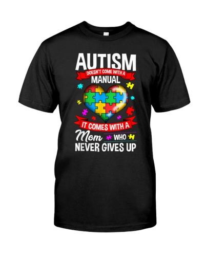 Autism Mom Never Give Up