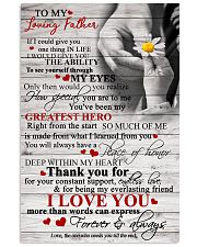 To My Loving Father 11x17 Poster front