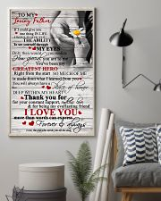 To My Loving Father 11x17 Poster lifestyle-poster-1