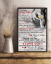 To My Loving Father 11x17 Poster lifestyle-poster-3