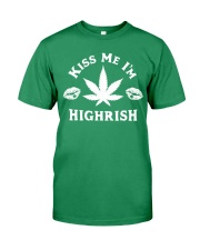Kiss Me I'm Highrish Premium Fit Mens Tee tile