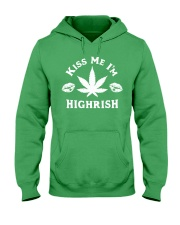 Kiss Me I'm Highrish Hooded Sweatshirt tile