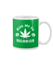 Kiss Me I'm Highrish Mug tile