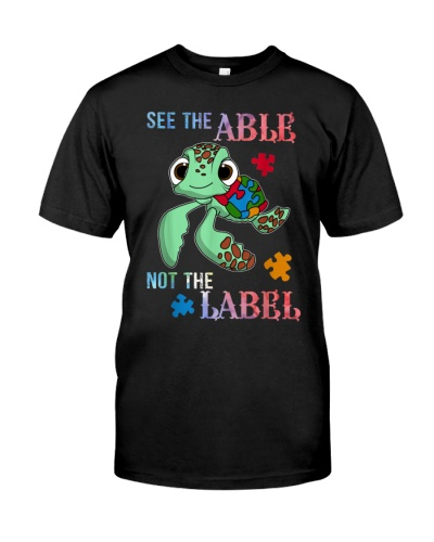 Autism See the Able Not The Label