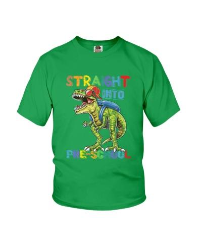 Straight Into Preschool Grade Dinosaur T Rex TC