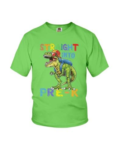 Straight Into Pre K Grade Dinosaur T Rex TC