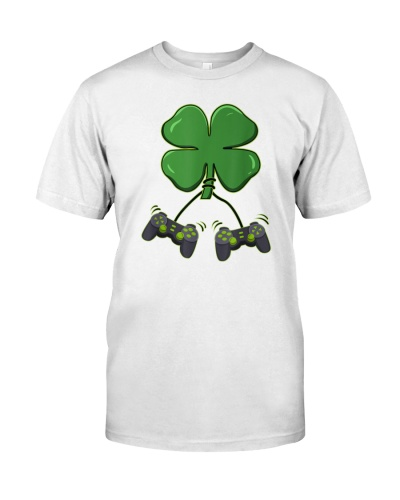 Clover Video Game Controllers St Patricks Day