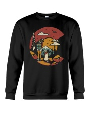 Camping With Dog Crewneck Sweatshirt thumbnail