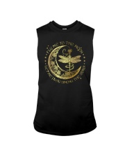 Fly Me To The Moon Let Me Play Among The Stars Sleeveless Tee thumbnail
